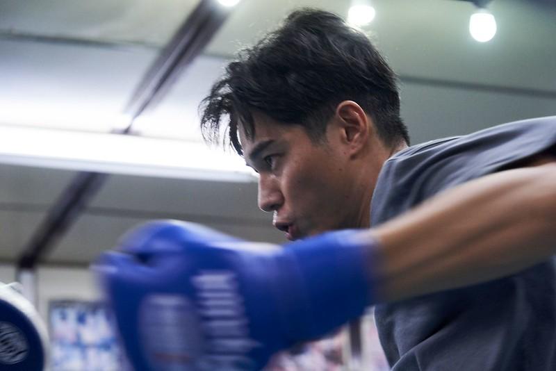 Kazuki, uno dei protagonisti del film sul pugilato Blue